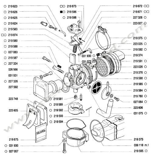 catalogs    tomos bullet a35   carburetor  intake manifold