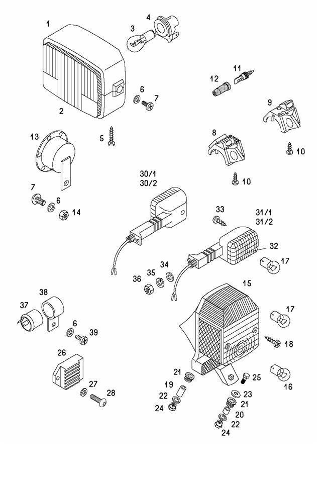 catalogs tomos lx a55 electrical parts wiring harness. Black Bedroom Furniture Sets. Home Design Ideas