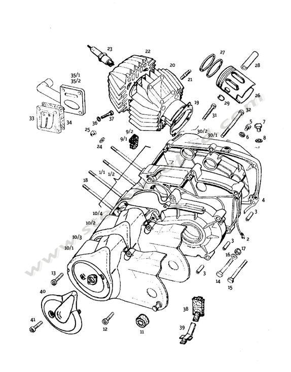 Super Engine Crankcase Cylinder Piston Wiring 101 Relewellnesstrialsorg