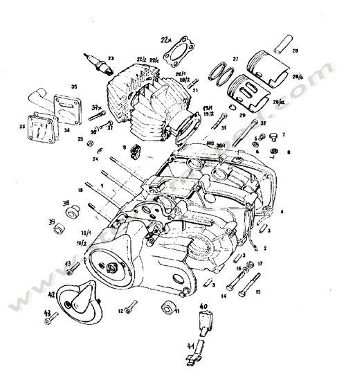 Cool Engine Crankcase Cylinder Piston Wiring 101 Relewellnesstrialsorg
