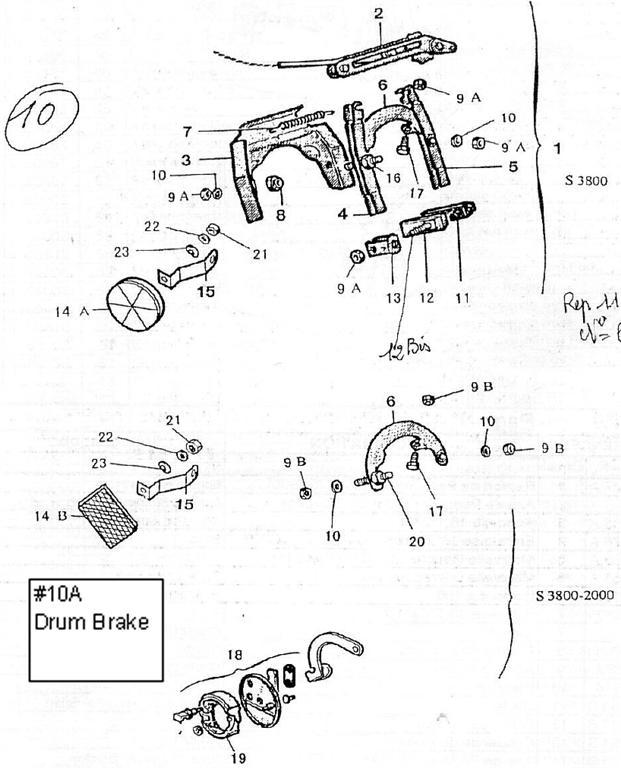 catalogs    velosolex   front brake